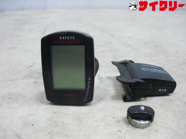 サイクルコンピューター CC-RD300W※電池欠品