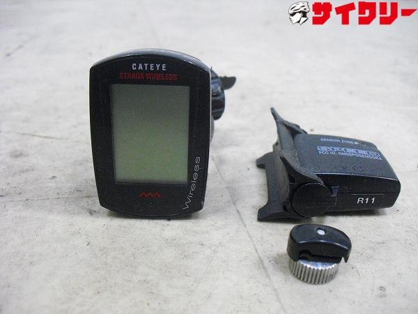 サイクルコンピューター CC-RD300W※バンドカット、電池欠品