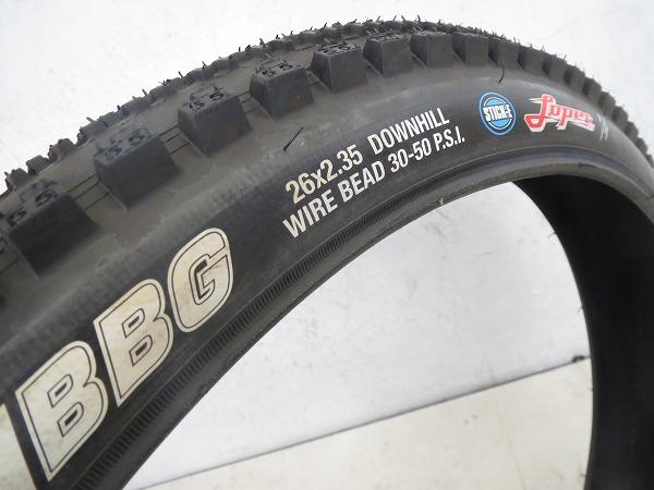 クリンチャータイヤ BBG 26x2.35 DOWNHILL