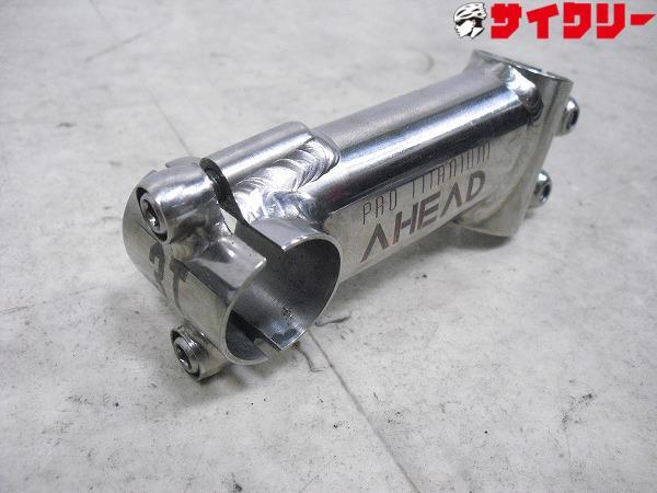 チタンアヘッドステム PRO TITANIUM AHEAD 90mm/φ26.0mm/1インチ