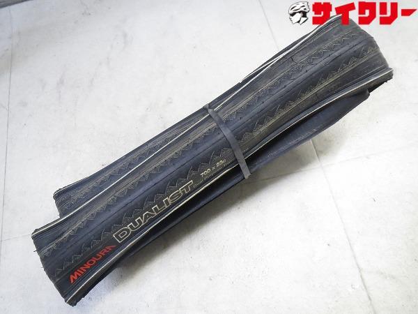 トレーナー用タイヤ DUALIST 700x23c ブラック