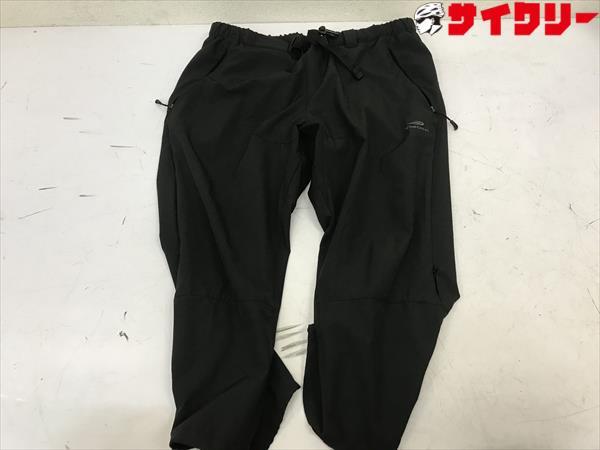 サイクリングボトムス Lサイズ 黒