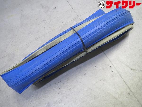 トレーナー用タイヤ 700x23c ブルー