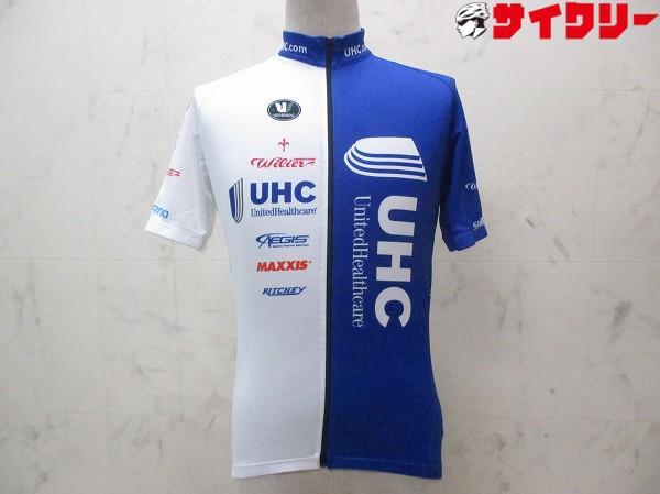 半袖フルジップジャージ サイズ:M ブルー/ホワイト