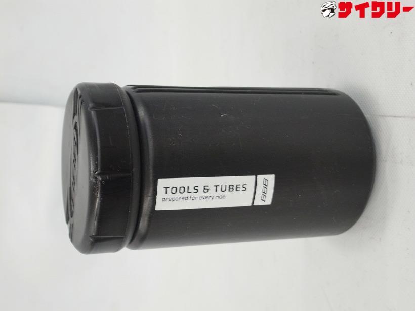 ツール缶 TOOLS & TUBES ブラック