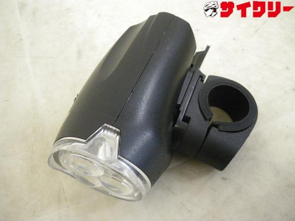 フロントライト SX7 ブラック 25.4/26.0mm径対応 単3×3本 点灯・点滅