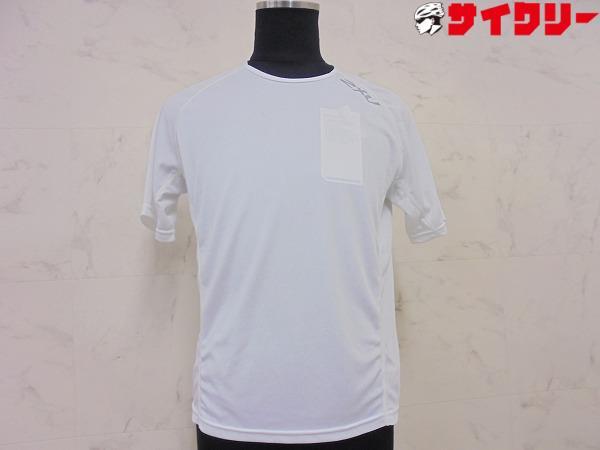 半袖アンダーシャツ XSサイズ ホワイト ※汚れあり