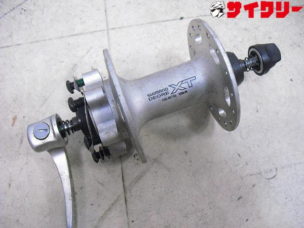 フロントハブ HB-M756 DEORE XT 32H