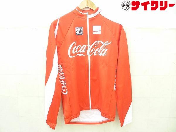 長袖フルジップジャージ Coca-Colaロゴ XLサイズ