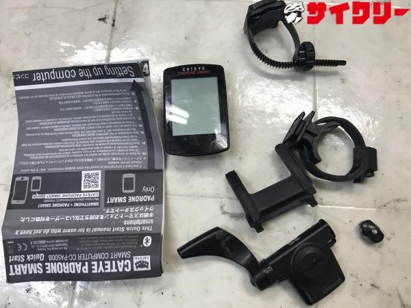サイクルコンピューター CC-PA500B 電池・マグネット欠品