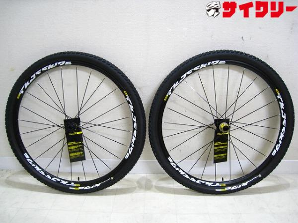 29erホイールセット CROSSRIDE TUBELESS QUEST WTS 15/12mm