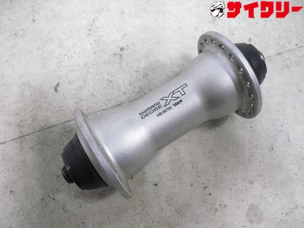 フロントハブ HB-M750 100㎜/36H