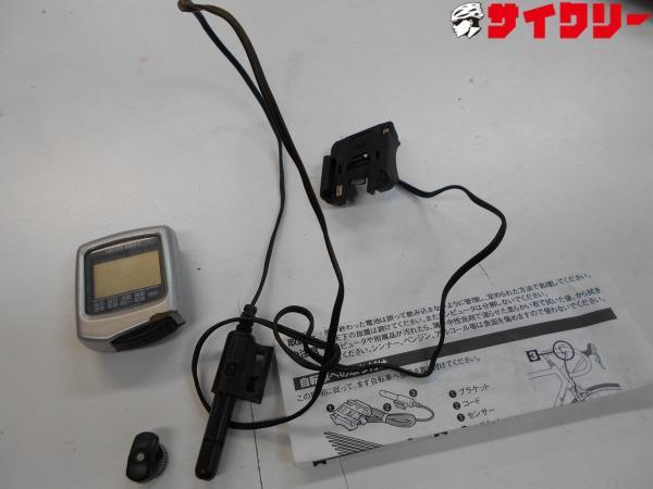 サイクルコンピュータ CC-VL110 動作確認済み 電池なし