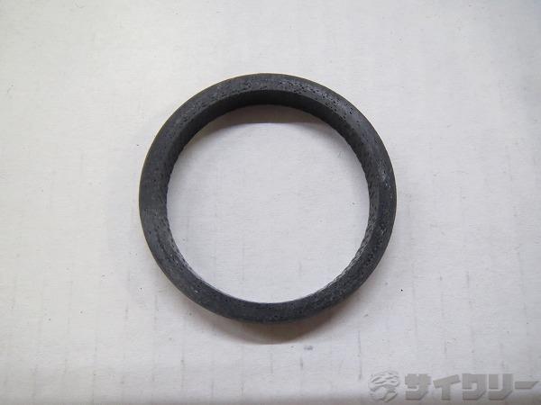 カーボンコラムスペーサー 5mm/OS ブラック