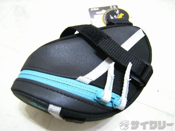 サドルバッグ GINA サイズ:S ブラック/ブルー