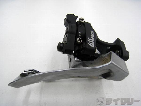 フロントディレラー X-7 34.9mm