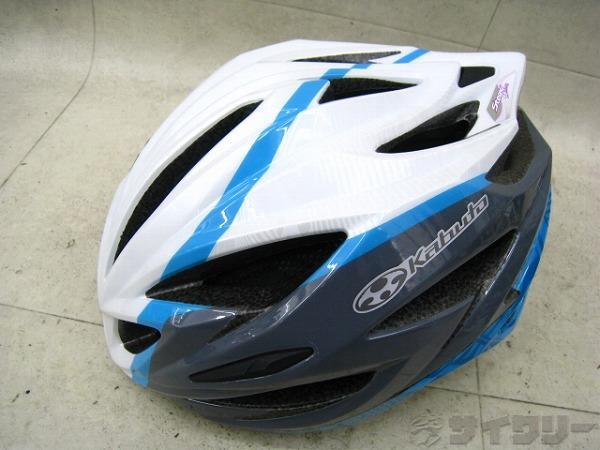 ヘルメット STEAIR LADIES 女性用 S/M ホワイト/ブルー