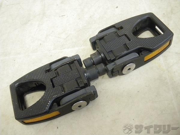 折り畳みフラットペダル ブラック
