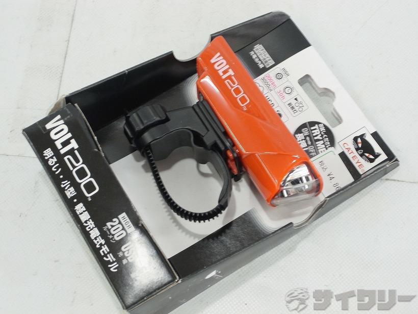 充電式フロントライト VOLT200 HL-EL151RC レッド