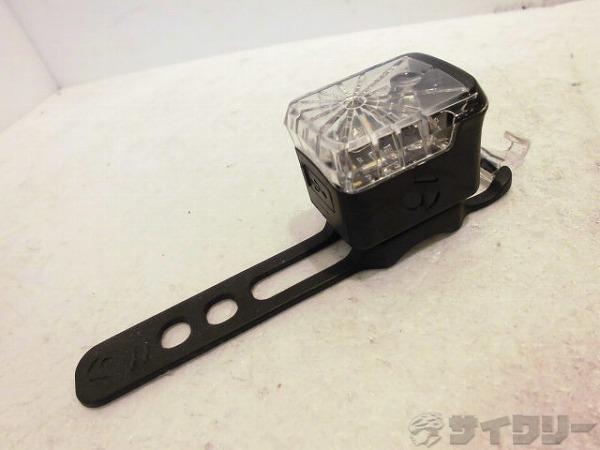 フロントフラッシャー GLO ブラック USBケーブル欠品