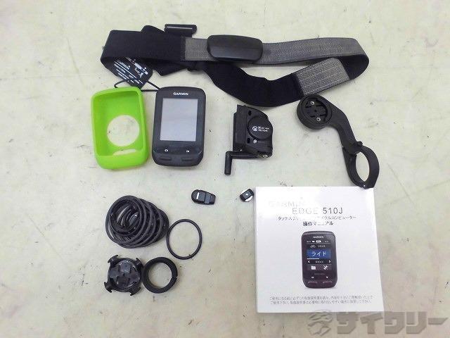 GPS内臓サイクルコンピュータ EDGE510J