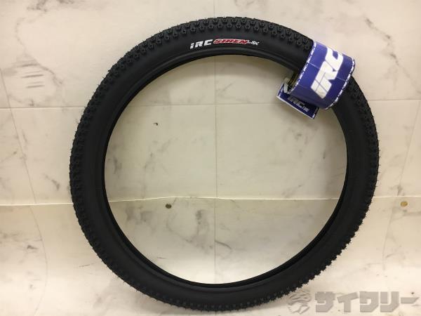 クリンチャータイヤ SIREN SX 20x1.75(406) ブラック