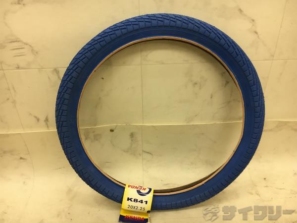 クリンチャータイヤ K841 20x2.25(406) ブルー