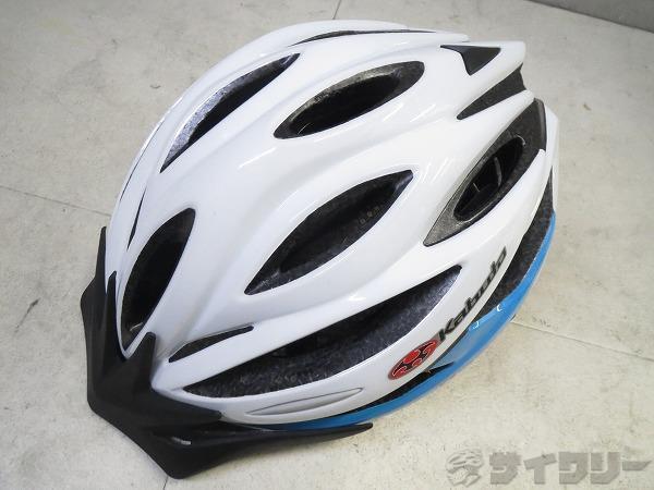 ヘルメット ALFE 2016年式 M/Lサイズ ホワイト/ブルー