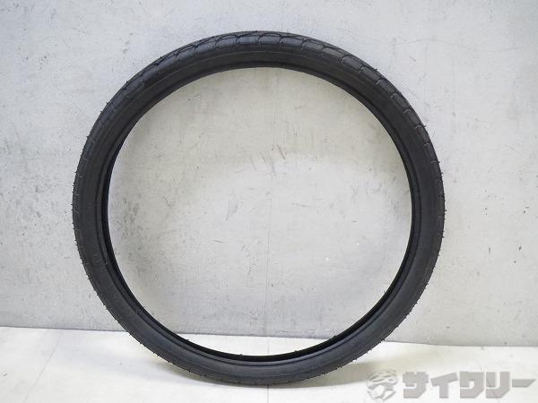 クリンチャータイヤ 20x1.50(40-406) ワイヤー ブラック