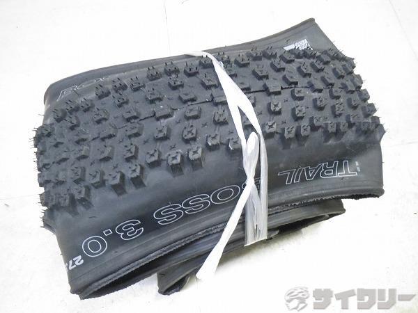 クリンチャータイヤ TRAIL BOSS 27.5x3.0 ケブラー ブラック