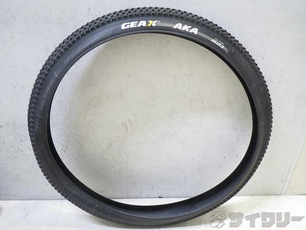 MTBタイヤ AKA 26x2.2 ワイヤービード ブラック
