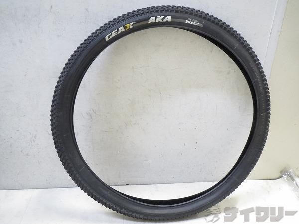 MTBタイヤ AKA 26x2.2 ワイヤー ブラック