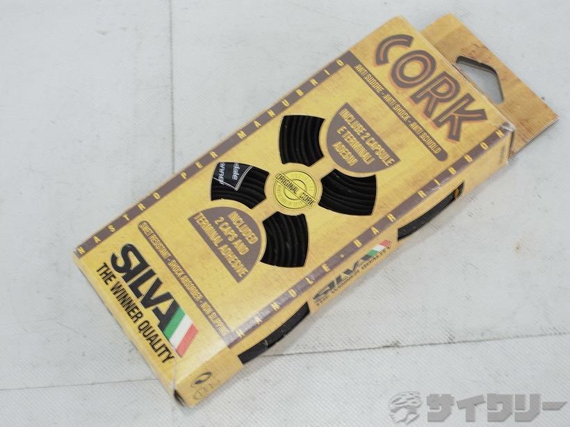 バーテープ CORK キャノンデールロゴ ブラック