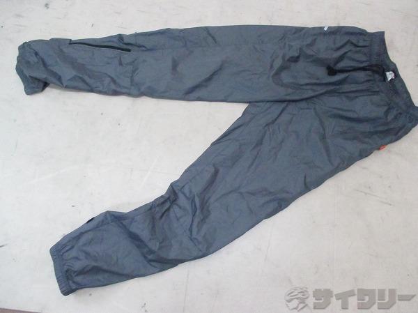 ロングパンツ ナイロン サイズ:S グレー