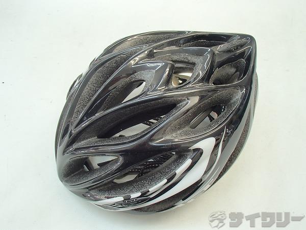 ヘルメット M75 INFERNO UL サイズ:M ブラック/ホワイト