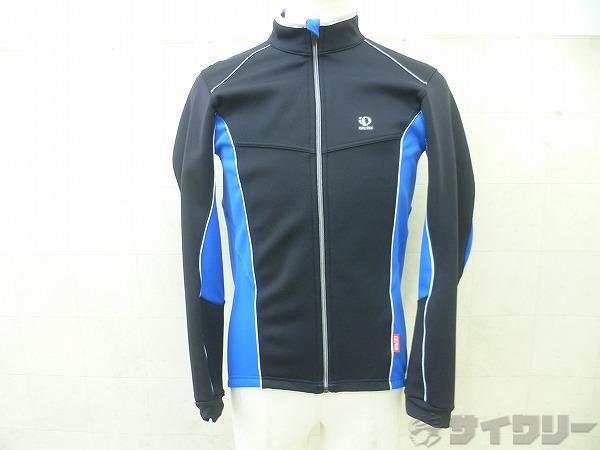 フルジップ長袖ジャケット Mサイズ ブラック