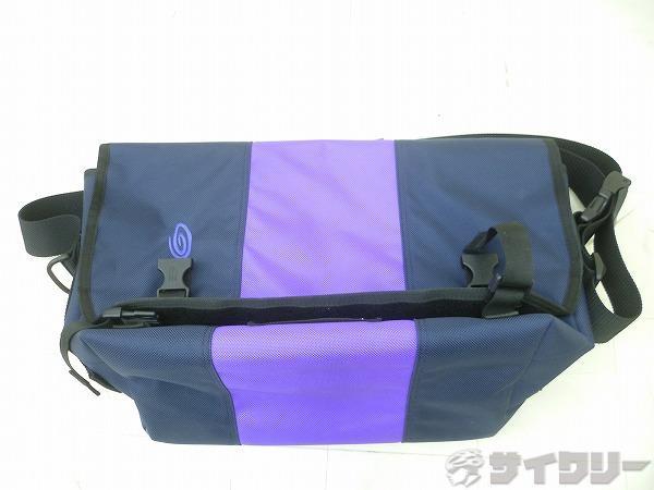 クラシックメッセンジャーバッグ Mサイズ ナイトブルー×パシフィック