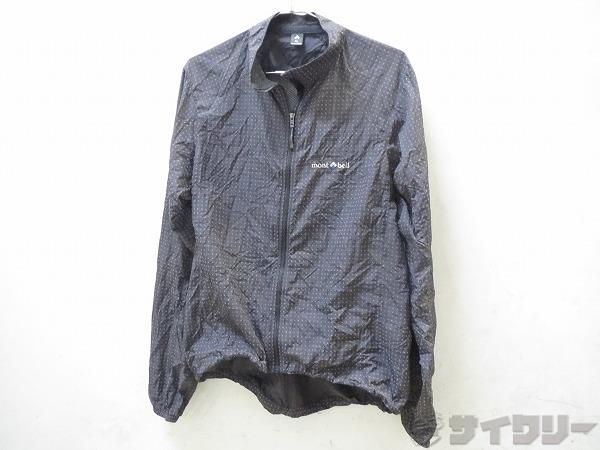 薄手折り畳みジャケット XL ブラック