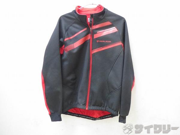ジャケット BLサイズ 裏起毛 ブラック/レッド