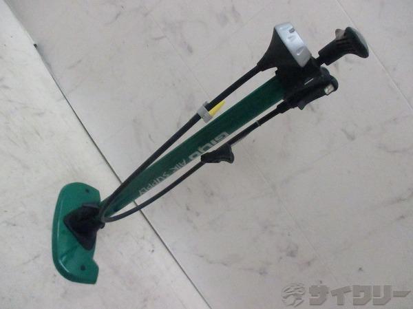 フロアポンプ 米/仏/英式 グリーン