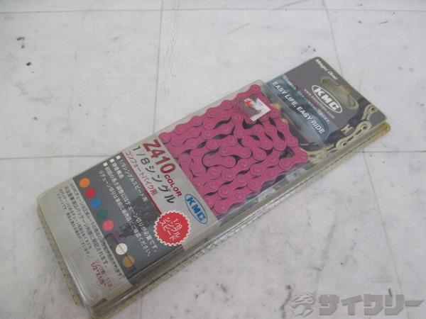 チェーン Z410 112L 1/2×1/8 ピンク