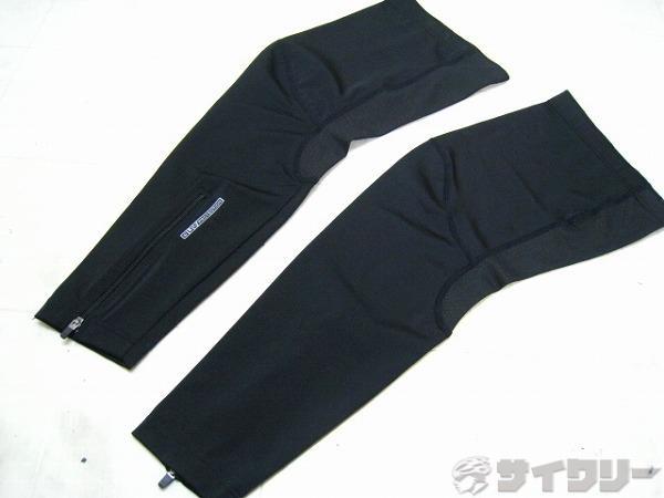 レッグウォーマー UVプロテクション サイズ:S ブラック