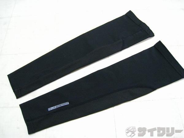 アームカバー UVプロテクション サイズ:S ブラック