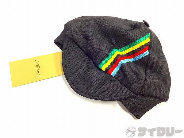 IRIDE WOOL CAP ブラック Sサイズ