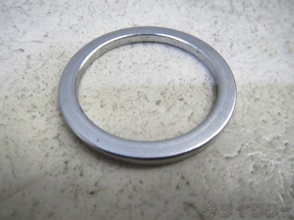 コラムスペーサー  1インチ(25.4mm)/2mm シルバー