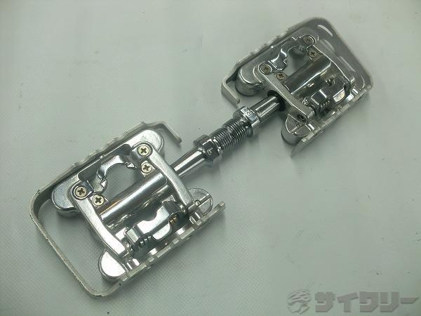 片面ビンディングペダル WPD-M17C シルバー