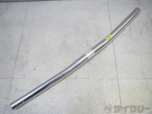 フラットバーハンドル 25.4/540mm シルバー