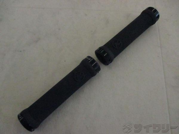 ロックオングリップ KONAロゴ ブラック 140mm(実測)
