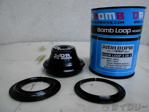 ヘッドパーツ BOOM LOOP 4IN1 OS ブラック