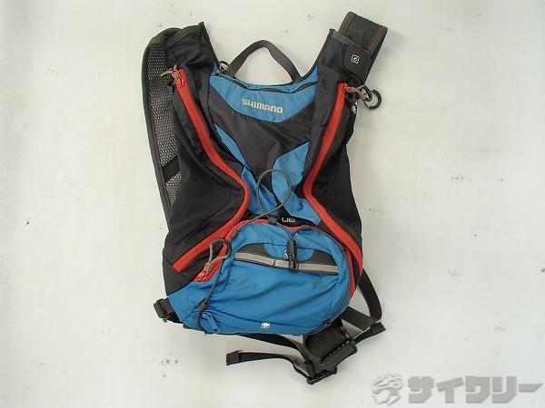 バッグパック U6 ブルー/ブラック